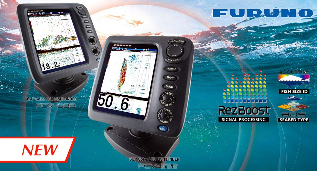 Furuno FCV628 Color LCD marine gps