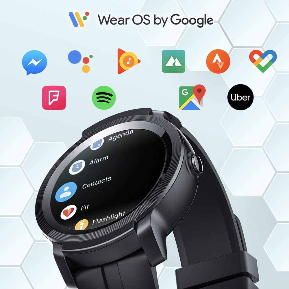 Mobvoi Ticwatch E2 features