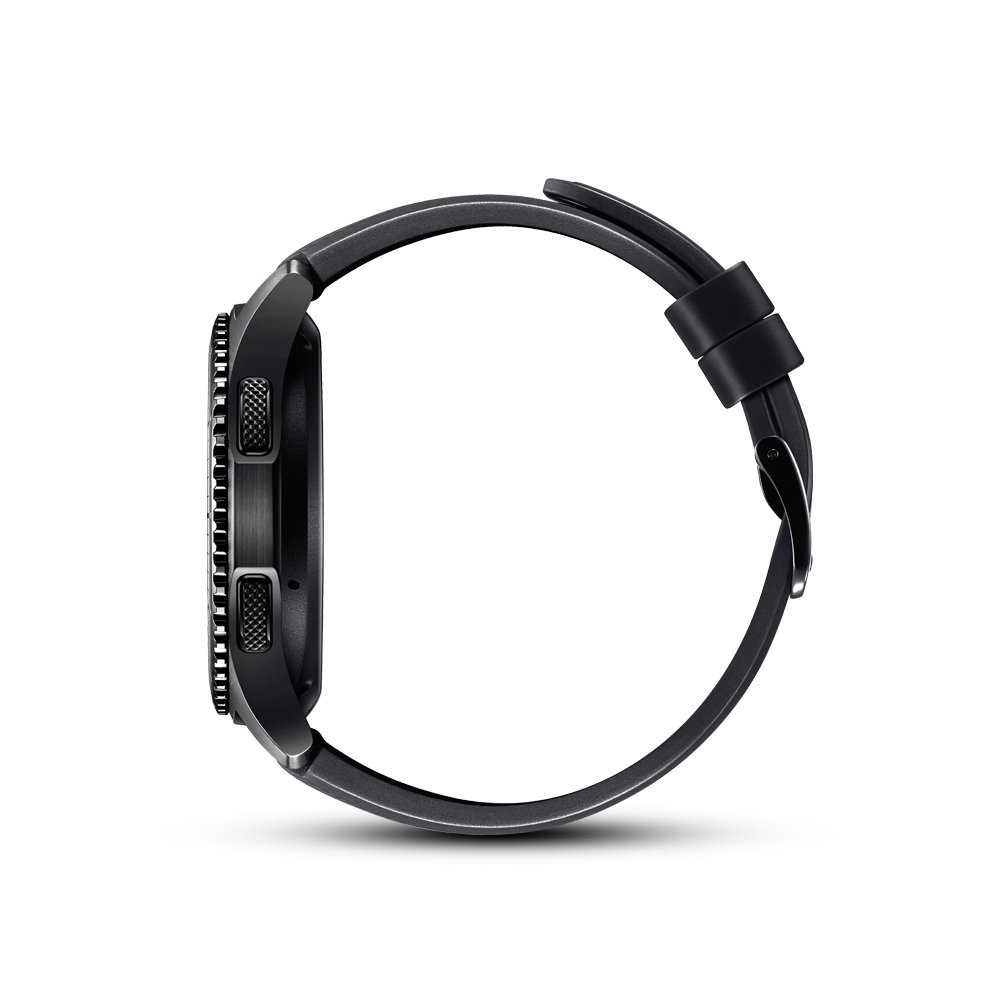 Samsung Gear S3 Frontier side view