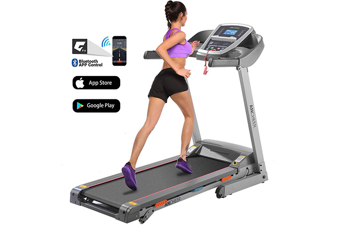 IMPFREE APP Control Electric Folding Treadmill