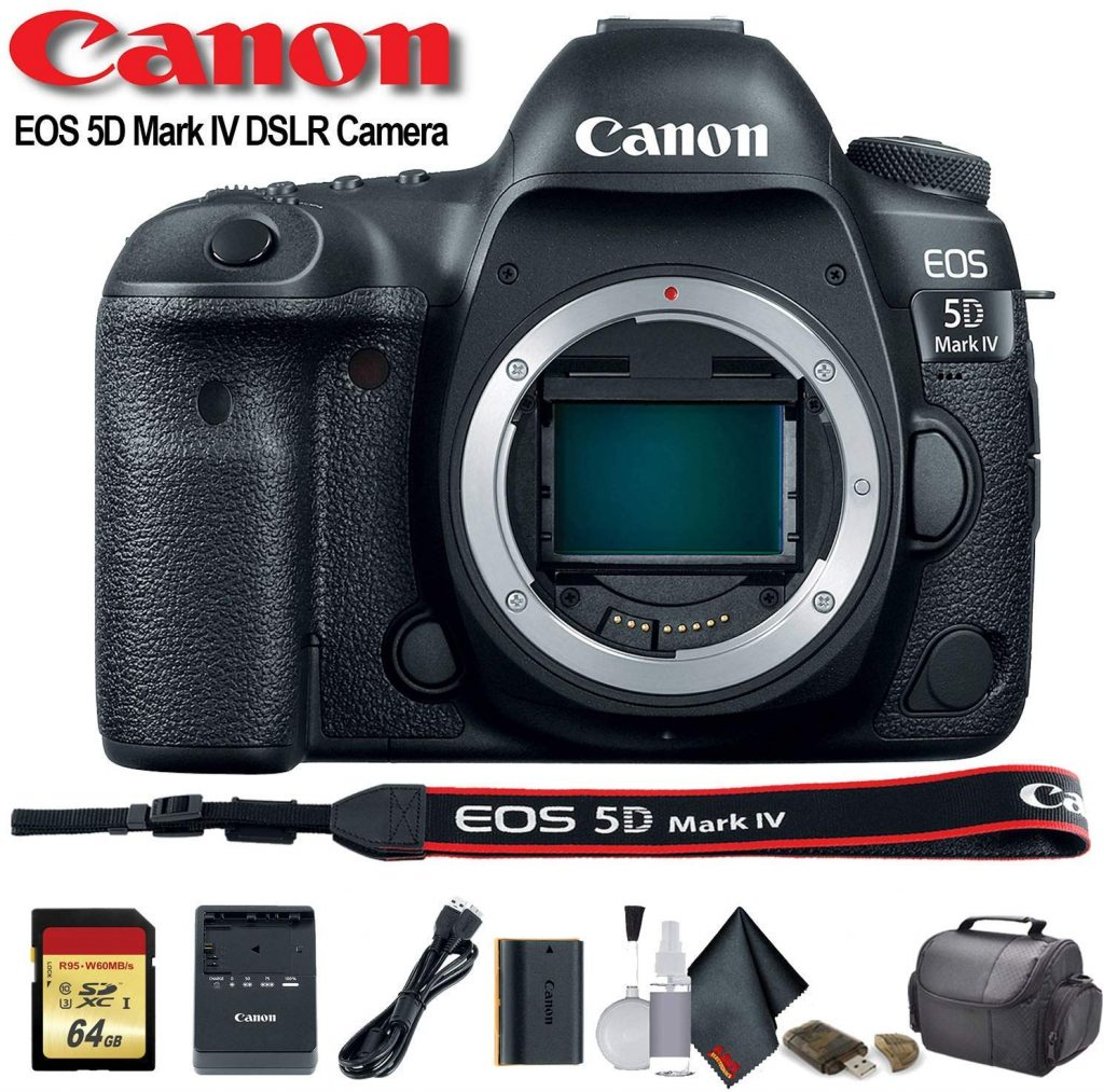 Canon EOS 5D Mark IV front contents