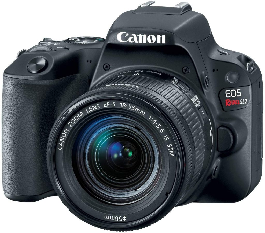 Canon EOS Rebel SL2 dslr camera review