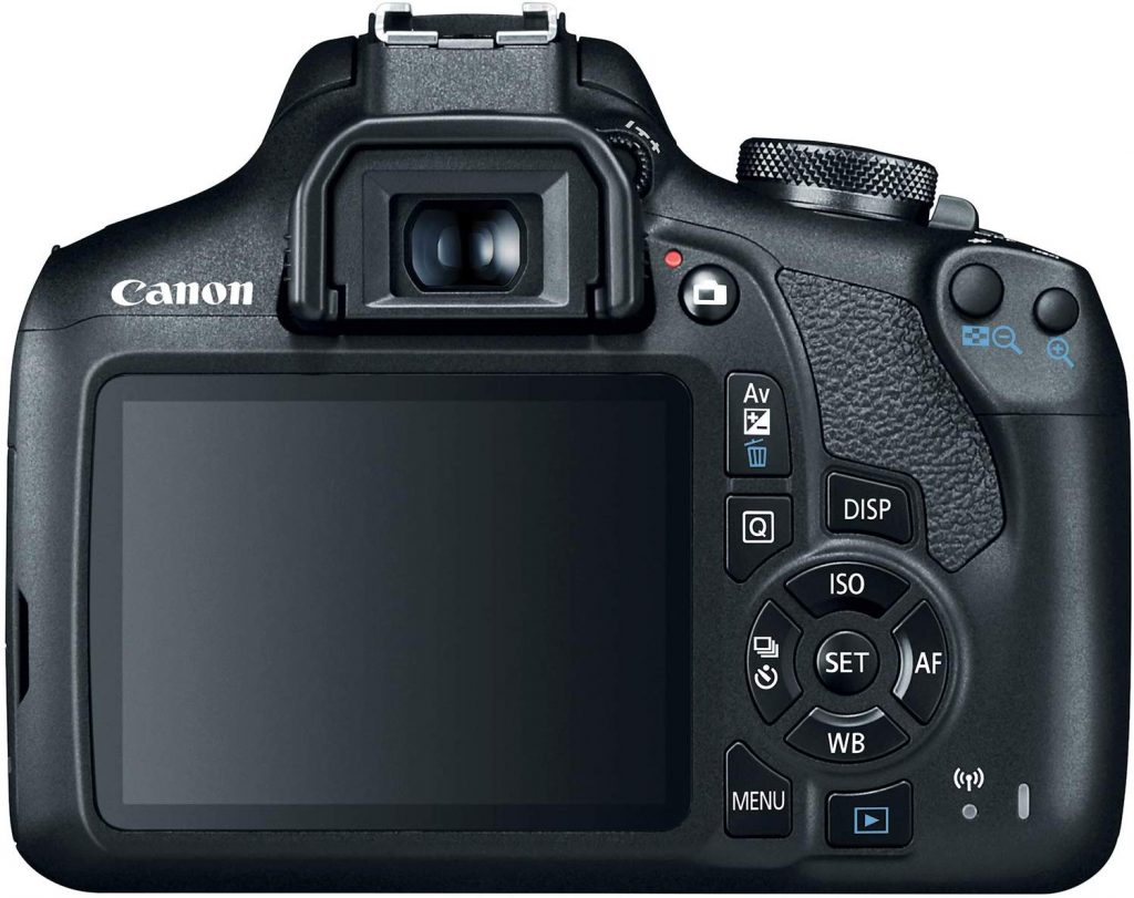 Canon EOS Rebel T7 back side