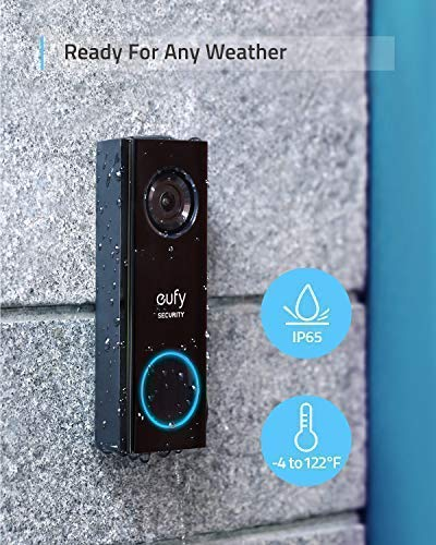 Eufy Security, Wi-Fi Video Doorbell features