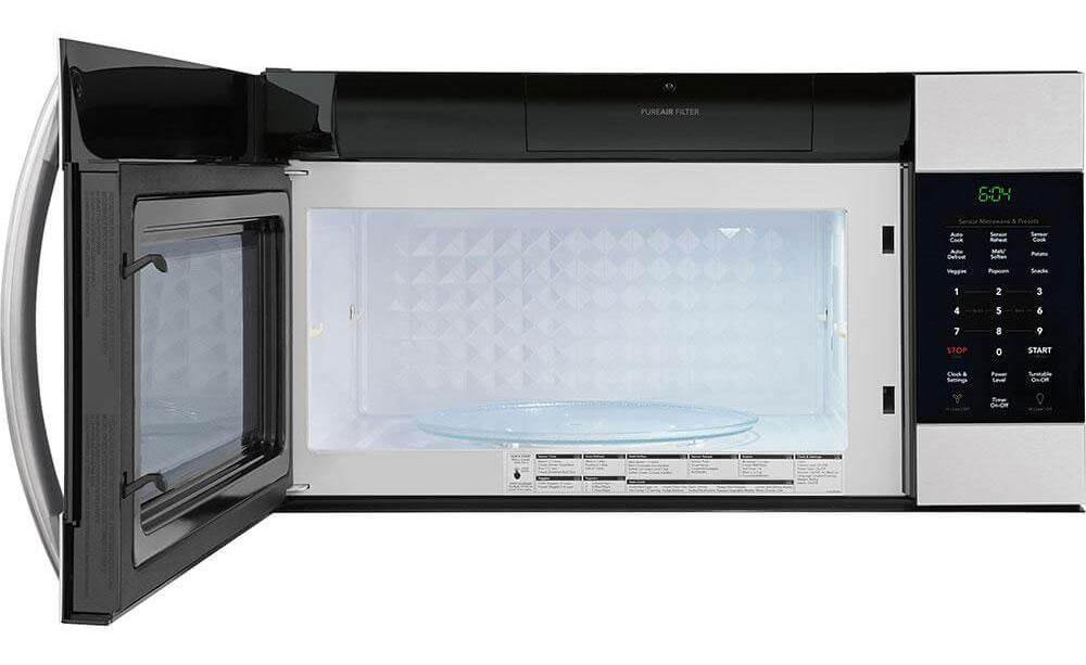 Frigidaire FGMV176NTF eopen