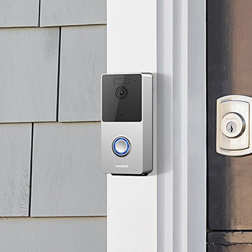 Remo+ RemoBell S Wi-Fi Video Doorbell installled
