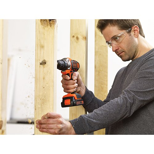 BLACK DECKER 20V MAX Matrix Cordless Drill in use