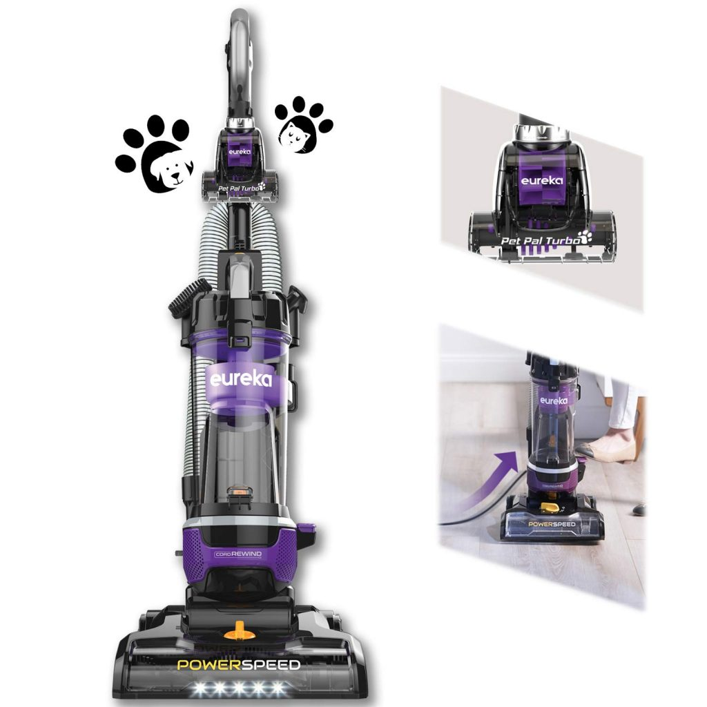 Eureka NEU202 PowerSpeed Bagless Upright Vacuum