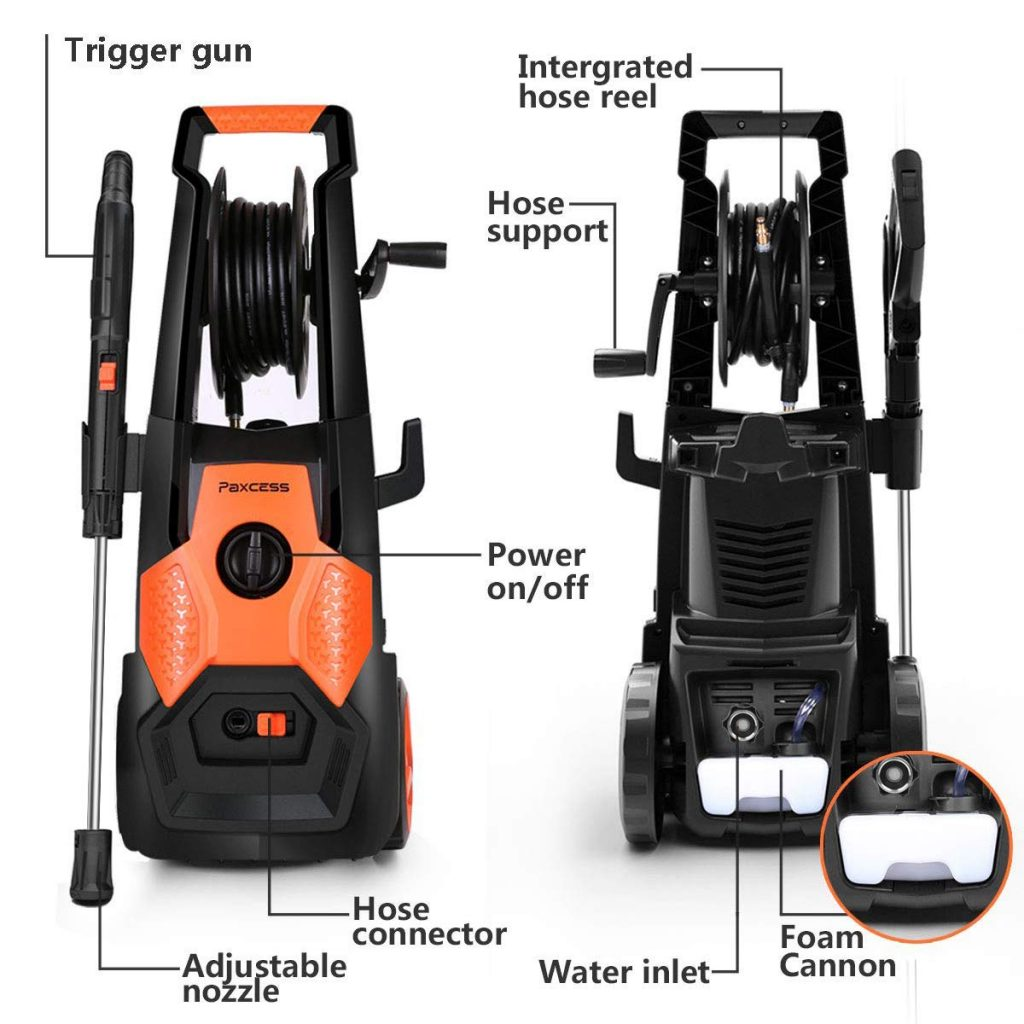 PAXCESS Electric Pressure Washer diagram