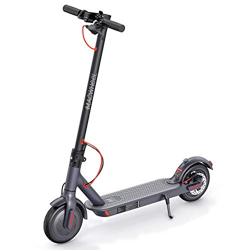 """CACKSS MACWHEEL MX1 Electric Scooter, 8.5"""" Foam Fulfilled Flat-Free Tires, 15.5mph Folding Commuting Scooter"""