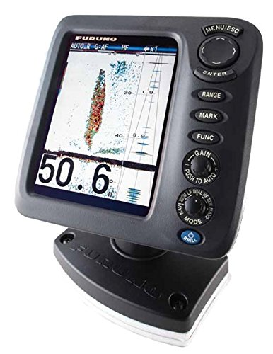 Furuno FCV628 Color LCD, 600W, 50/200 KHz Operating Frequency Fish Finder Without Transducer, 5.7""
