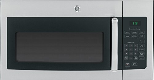 "GE JVM3160RFSS 30"" Over-the-Range Microwave Oven in Stainless Steel"