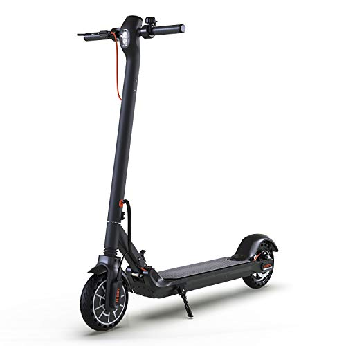 """Hiboy MAXElectric Scooter - 350W Motor 8.5"""" Solid Tires Up to 17 Miles & 18.6 MPH One-Step Fold, Adult Electric Scooter for Commute and Travel"""