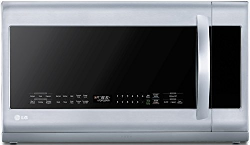 LG LMHM2237ST 2.2 Cubic Feet Over-The-Range Microwave Oven, Stainless Steel