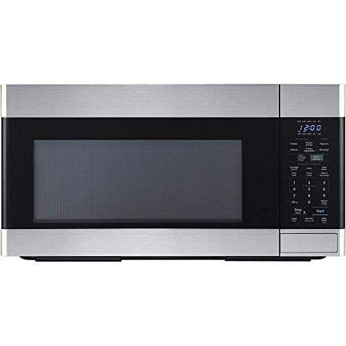 Sharp SMO1854DS Over the Range Microwave Oven with 1.8 cu. ft. Capacity, 1100 Cooking Watts, 450 CFM in Stainless Steel