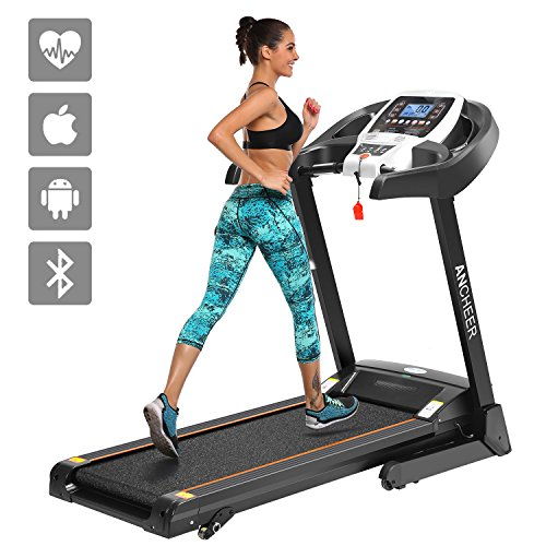 SIMPFREE APP Control Electric Folding Treadmill S8100 (APP Control_Black)