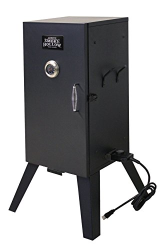 Smoke Hollow 26142E 26-Inch Electric Smoker with Adjustable Temperature Control