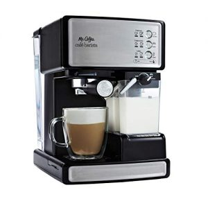 mr coffee espresso and cappuccino maker caf barista silver 1
